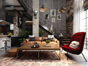 Industrial-Styled-Interior-Trend